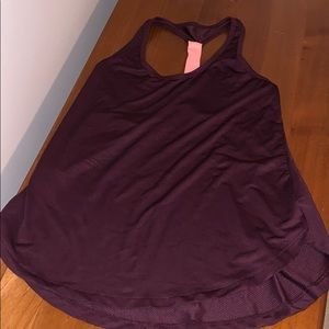 Old navy plum colored tank size small